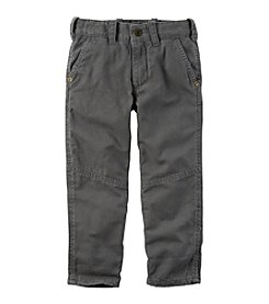 Carter's® Boys' 2T-8 Lined Canvas Pants