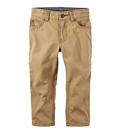 Carter's® Boys' 2T-8 5-Pocket Twill Pants