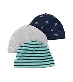 Carter's® Baby Boys' 3-Pack Space Caps