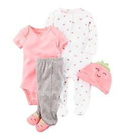 Carter's® Baby Girls' 4-Piece Strawberry Gift Set