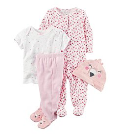 Carter's® Baby Girls' 4-Piece Flamingo Gift Set