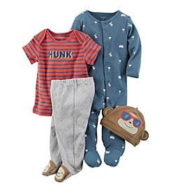 Carter's® Baby Boys' 4-Piece Too Cool Monkey Gift Set