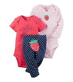Carter's® Baby Girls' 3-Piece Little Sweetheart Set