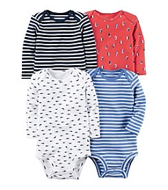Carter's® Baby Boys' 4-Pack Nautical Bodysuits
