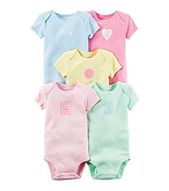 Carter's® Baby Girls' 5-Pack Little Sunshine Bodysuits