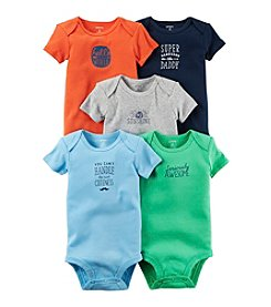 Carter's® Baby Boys 5-Pack Mr. Sunshine Bodysuits