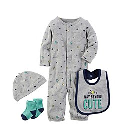 Carter's® Baby Boys' 4-Piece Way Beyond Cute Set