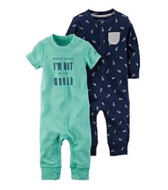 Carter's® Baby Boys' 2-Pack Out Of This World Coveralls
