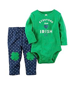 Carter's® Baby Girls' 2-Piece Irish Girl Bodysuit Set