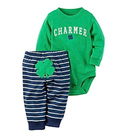 Carter's® Baby Boys 2-Piece Charmer Bodysuit Set