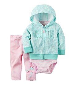Carter's® Baby Girls' 3-Piece Cute Hoodie Set