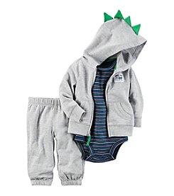 Carter's® Baby Boys' 3-Piece Dino Hoodie Set