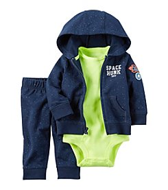 Carter's® Baby Boys' 3-Piece Space Hunk Hoodie Set