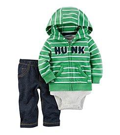 Carter's® Baby Boys' 3-Piece Hunk Hoodie Set