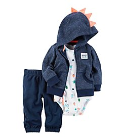Carter's® Baby Boys' 3-Piece Monster Hoodie Set