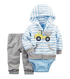 Carter's® Baby Boys' 3-Piece Truck Hoodie Set
