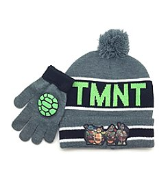 Teenage Mutant Ninja Turtles® Boys' Pom Hat and Gloves Set