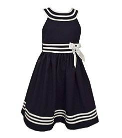 Bonnie Jean® Girls' 7-16 Halter Sailor Dress