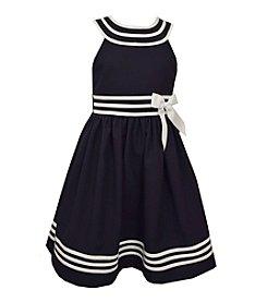 Bonnie Jean® Girls' 7-16 Halter Sailor Dress