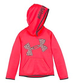 Under Armour® Girls' 4-6X Chain Grid Jumbo Logo Hoodie