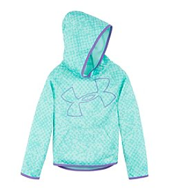 Under Armour® Girls' 2T-6X Printed Glitter Logo Hoodie