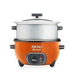 Aroma® Abuelitas 20-Cup Specialty Rice Cooker and XL Food Steamer