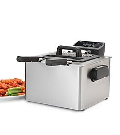 Aroma® 4-qt. Stainless Steel Smart Fry XL Digital Deep Fryer