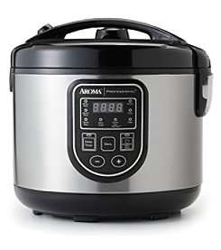 Aroma® Professional 16-Cup Digital Rice Cooker, Slow Cooker & Food Steamer