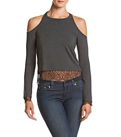 Splendid® Lace Trim Top