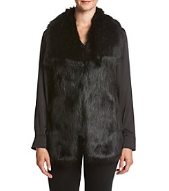 Via Spiga® Faux Fur Vest