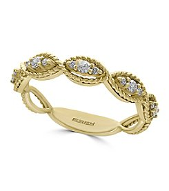 Effy® D'oro Collection 0.20 ct. t.w. Diamond Ring In 14K Yellow Gold