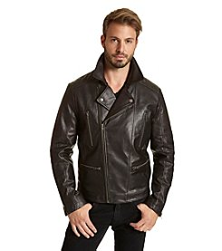 Excelled Men's Classic Moto Jacket