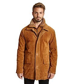 Excelled Men's Suede-Feel Jacket