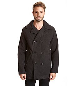 Excelled Men's Classic Peacoat