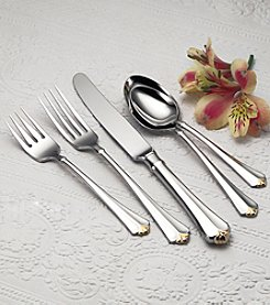 Oneida® Golden Juilliard 5-Pc. Place Setting