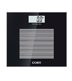 Coby® Modern Digital Glass Bathroom Scale