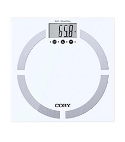Coby® Moden Multi User Digital Body Fat Scale
