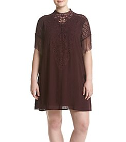 Skylar & Jade™ Plus Size Embroidered Dress