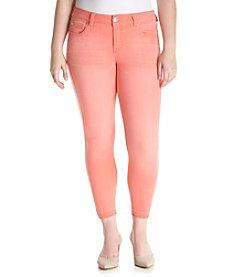 Celebrity Pink Plus-Size Release Hem Ankle Jeans