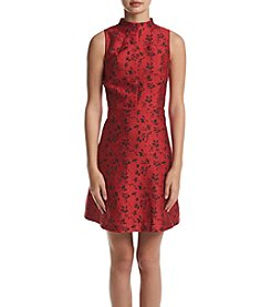 Kensie® Floral Brocade Dress