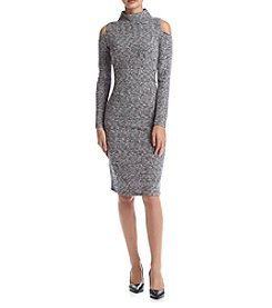 Kensie® Mixed Rib Dress