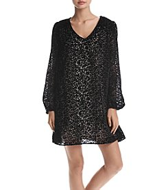 Sequin Hearts® Burnout Velvet Dress