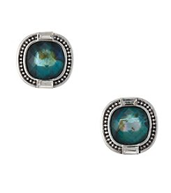 Napier® Multicolored Stud Earrings