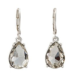 Napier® Crystal Drop Earrings