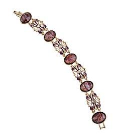 Napier® Boxed Abalone Bracelet