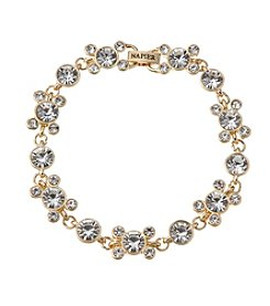 Napier® Boxed Crystal Circle Bracelet