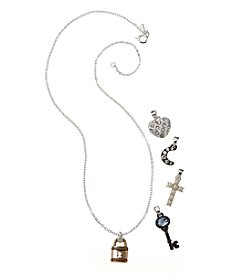 Napier® Boxed Interchangeable Pendant Necklace