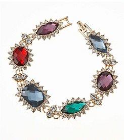 Napier® Boxed Multicolored Line Bracelet