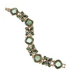 Napier® Boxed Floral Motif Line Bracelet