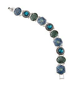 Napier® Boxed Etched Line Bracelet